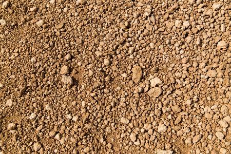 felsiger Boden der Wüste