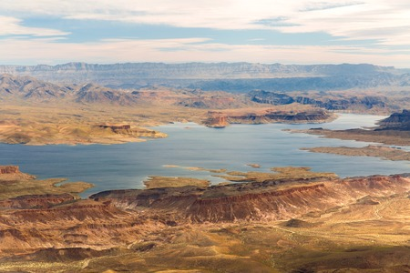 aerial view of grand canyon and lake mead Stock fotó