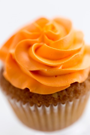 close up of cupcake with buttercream frosting Banque d'images - 119163814