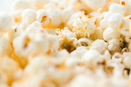 close up of popcorn Banco de Imagens