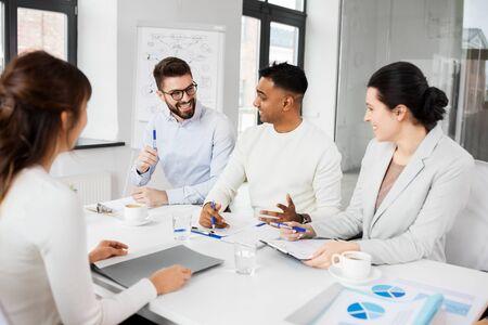 recruiters having job interview with employee Stock Photo - 126481373