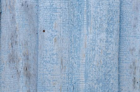 old blue wood panels on wall, texture background