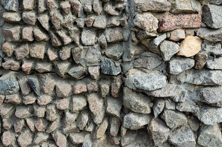 Texture of old stone wall for background or texture