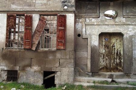 Old house door window - old house door and windows