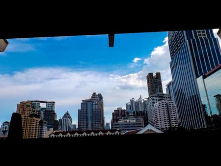 bluesky: Bluesky and building @Bangkok