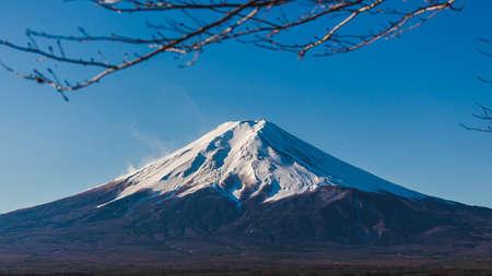 Close Fuji san  japan Kawakuchiko