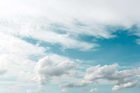 nimbi: whith clouds in the blue sky