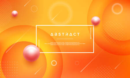 Modern abstract background with mixing yellow orange color can use for posters, landing page, template, ui, website header background, mobile screen wallpaper, web banner, backdrop, and others.