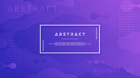 Blue purple abstract background is suitable for posters, header, web banner, landing page, digital background, wallpaper, web page template and others.  イラスト・ベクター素材