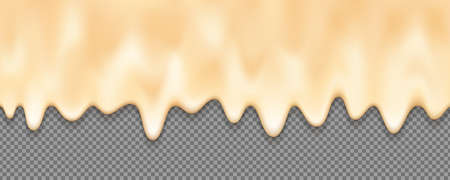 Melted cream background with an editable background. Abstract melted cream for your design element.