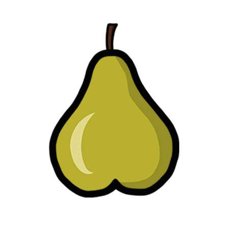 Cute Pear Çizim