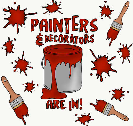 Painters and Decorators are in Çizim