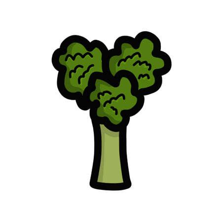 Heart shaped broccoli