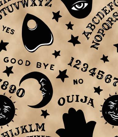 Ouija Board Pattern Stok Fotoğraf