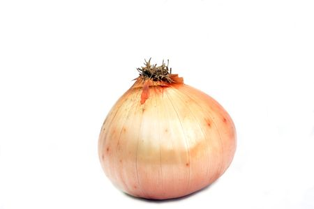 Vidalia onion isolate on a white background