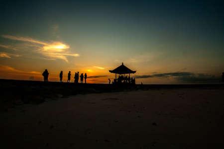sanur: Sunrise view in Sanur Beach Bali Indonesia
