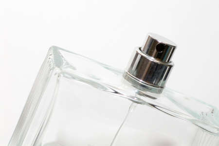 parfume: Parfume bottle by macro lens Stock Photo