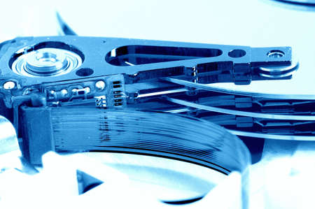 detail of hard disk drive Stock Photo - 4561488