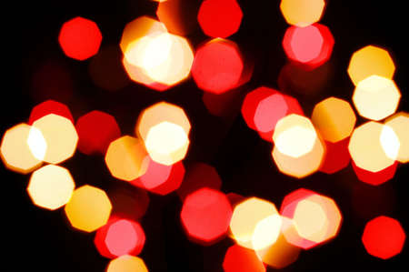 blurry lights: colorful abstract holiday lights