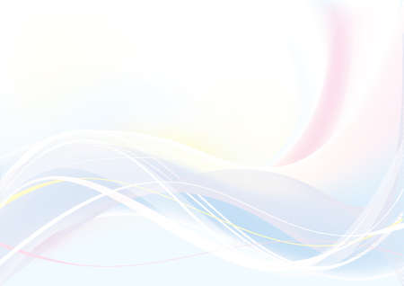 Abstract Wave blue and pink color