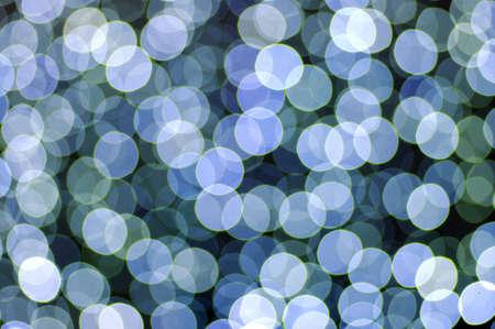 blue circular reflections  photo