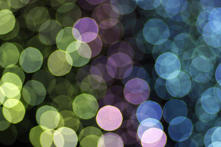 abstract glowing circles on a colorful background  photo
