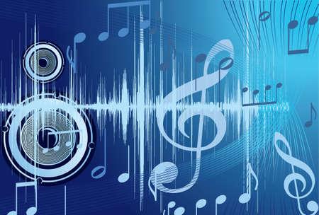 メモ青音楽の背景。