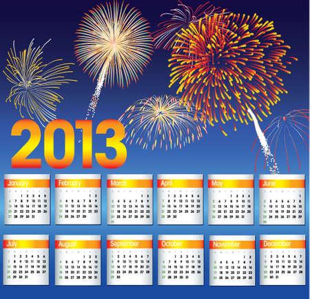 New Years 2013 Stock Vector - 15810015