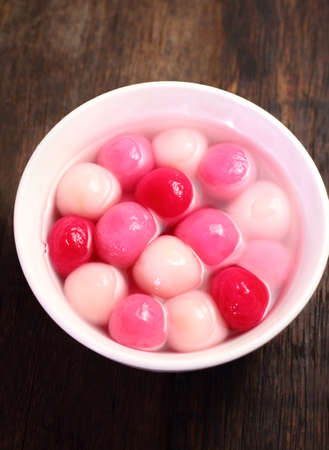 tang: Traditional chinese sweet rice ball