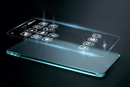 conveys: Three dimensional apps on smartphone screen. A 3D phone is a mobile phone that conveys depth perception to the viewer by employing stereoscopy or any other form of 3D depth techniques.
