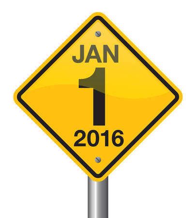 jan: Jan 1 2016 road sign vector design