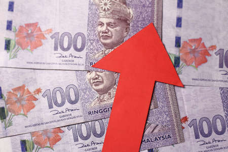 Appreciation of the Malaysian Ringgit means the Malaysian Ringgit is getting more valuable when compared with other currencies. Stock Photo