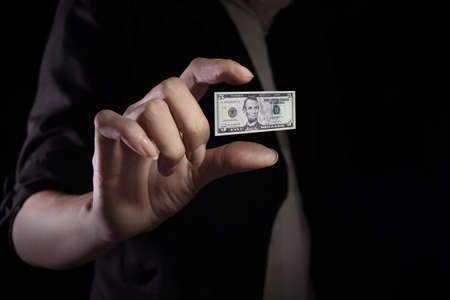 devaluation: Devaluation of US dollar currencies. Devaluation refers to a decrease in a currencys value with respect to other currencies. Stock Photo