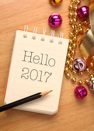 new years day: New year greetings with colorful decorations. New Years Day, also called simply New Years or New Year, is observed on January 1. Stock Photo