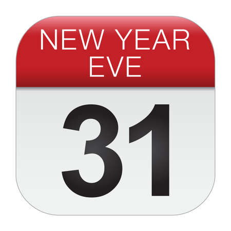 New year eve vector design. In the Gregorian calendar, New Year's Eve is the last day of the year,