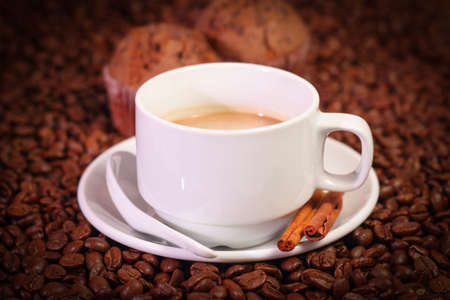 Coffee is a brewed drink prepared from roasted coffee beans, which are the seeds of berries from the Coffea plant.