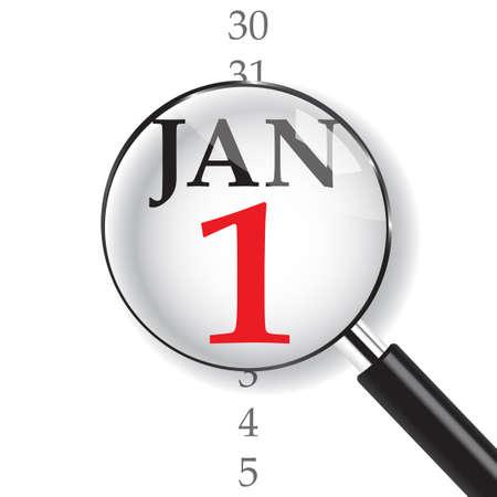 Primer plano el 1 de enero. Se acerca el Año Nuevo, les deseo todo lo mejor como siempre en este nuevo año entrante.