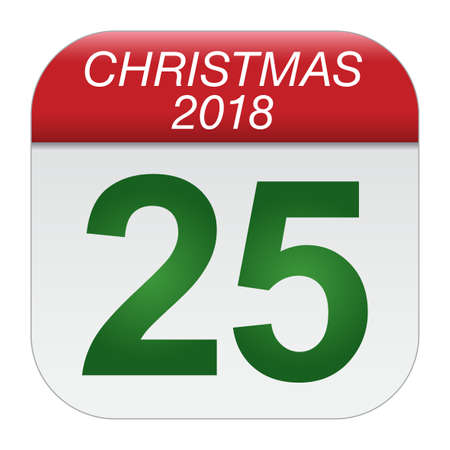 Christmas day calendar. Christmas day is coming, wish you all the best as always in this coming new year.