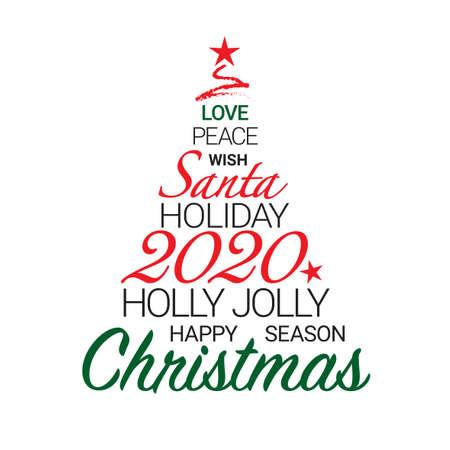 Christmas day vector illustration, colorful design. Wishing you wonderful memories during this joyous season.