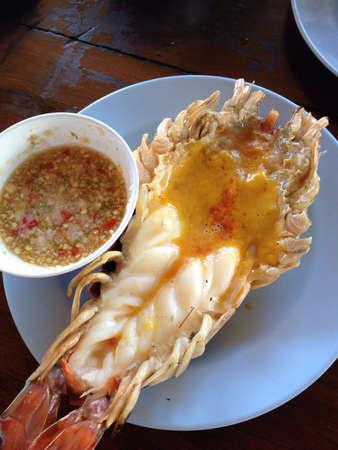 grill: Shrimp roast