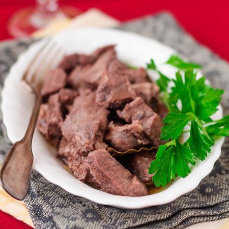 red braised: Pork Braised in Red Wine, square crop
