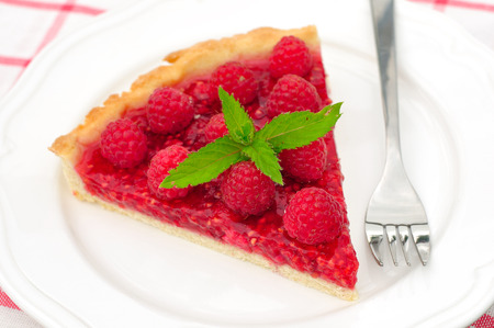 raspberry jelly: Fresh Raspberry Jelly Tart