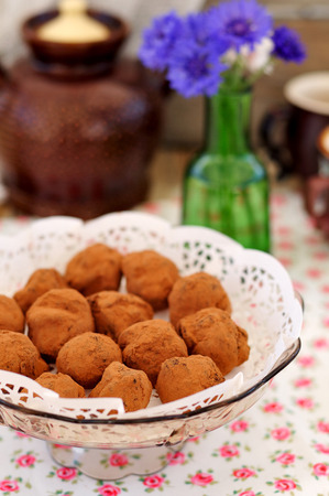 pruneau: Chocolate Prune Truffles