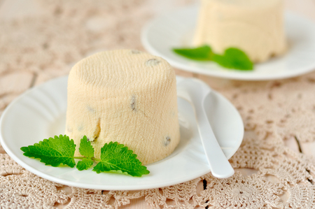 paskha: Quark dessert, paskha, Russian Easter sweet treat