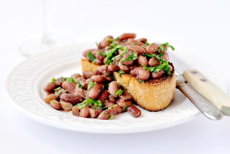 beans on toast: Kidney Beans on Toast