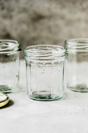 Tree Wet Empty Jars, copy space for your text