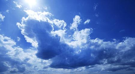 ozone layer: Blue Sky