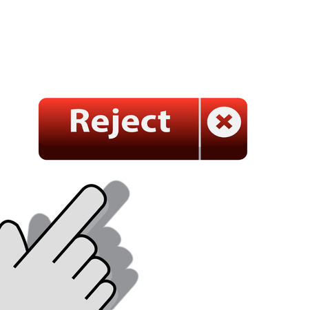 mouse click on the   button reject wants Vector