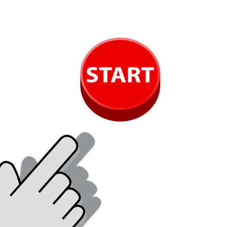 mouse click on the button start  wants Vector