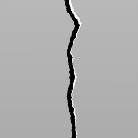 Aarde crack geïsoleerd op achtergrond ontwerp element